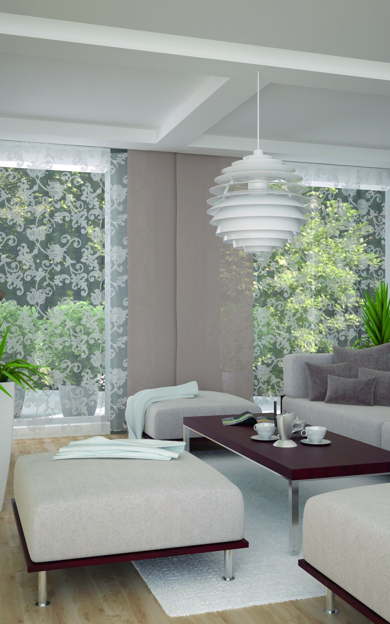 Fabric decorative Transparent CASSIA 95