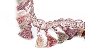 FRĘDZLE BAROQUE BRAID TASSEL FRINGE AT.557 B Quartz